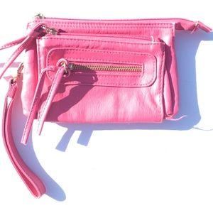 Pink wristlet/billfold
